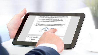 Photo of How to set up an electronic signature?